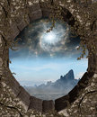 Window to Another World Royalty Free Stock Photo