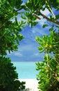 Window to paradise Royalty Free Stock Photo