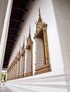 Window of Ubosot of Wat Suthat , Bangkok