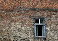 Window on wall Stock Photography