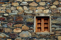 Window wall schist Royalty Free Stock Images