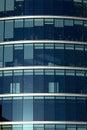 εταιρικά Windows γραφείων Στοκ Εικόνες