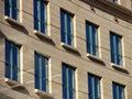 Windows γραφείων πόλεων Στοκ φωτογραφίες με δικαίωμα ελεύθερης χρήσης