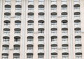 Windows with balconies Royalty Free Stock Photo
