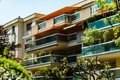 Windows and balcony, modern apartment house Royalty Free Stock Photo