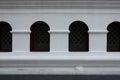 Windows of Bangpa-in palace Royalty Free Stock Photo
