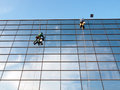 Windows cleaners Royalty Free Stock Photo