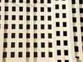 Windows in einem Gebäude Lizenzfreie Stockfotografie