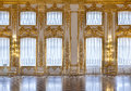 The windows of the hall of gold Royalty Free Stock Photo