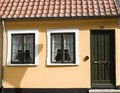Windows in Maribo Royalty Free Stock Photos