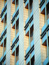 Windows on Morden Building Royalty Free Stock Photo