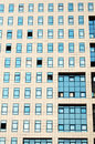 Windows of offices these are in business center Royalty Free Stock Photo
