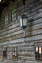 Windows of old house Stock Photos