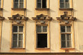 Windows of old house Royalty Free Stock Photo