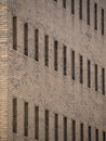 Windows on a Red Brick Building Royalty Free Stock Photo