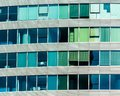 Windows of Skyscraper Business Office, Corporate building in Istanbul Royalty Free Stock Photo