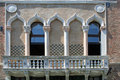 Windows of Venice Royalty Free Stock Photo