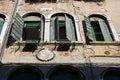 Windows in Venice, Italy Royalty Free Stock Photo
