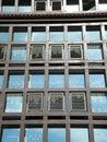 Windows wall Stock Photo