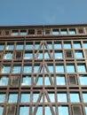 Windows wall Royalty Free Stock Photo