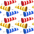 Windsock pattern Royalty Free Stock Photography