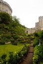 Windsor castle near London Royalty Free Stock Photos
