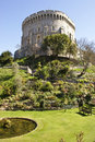 Windsor castle view london england Royalty Free Stock Images