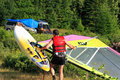 Windsurf And Camping