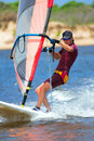 Windsurfer #15 Royalty Free Stock Photo