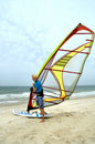 Windsurfer 4 Royalty Free Stock Photos