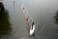 Windsurfing school in westlake hangzhou city of china Stock Photos