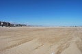 The windswept beach of Pescara Royalty Free Stock Photography