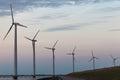 Windturbine Park In The Dutch ...