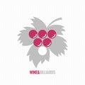Wine and billiards concept design background