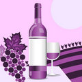 Wine bottle Royalty Free Stock Image