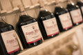 Wine bottles in melnik castle Royalty Free Stock Photo