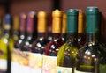 Wine bottles. Royalty Free Stock Photo