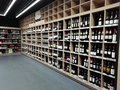 Wine Bottles In A Store