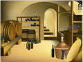 Wine cellar Royalty Free Stock Image