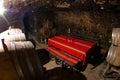 Wine cellar in melnik bulgaria Stock Photos