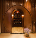 Wine cellar modern fashion traditional champagne storage place in china Stock Images