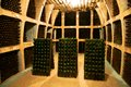 Wine cellar in Moldova Stock Photos