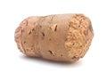 Wine cork isolated on white background Stock Photos
