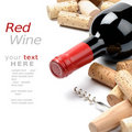 Wine and corks Royalty Free Stock Photos