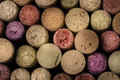 Wine corks background Royalty Free Stock Photo