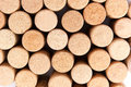 Wine corks different close up Stock Photography
