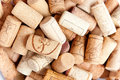Wine corks different close up Stock Image