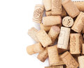Wine corks heap Royalty Free Stock Photo