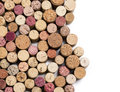 Wine corks isolated Royalty Free Stock Photo