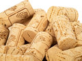 Wine corks pile of brand new Royalty Free Stock Images